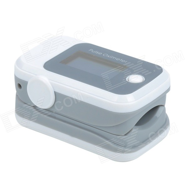 Sportguard OLED Fingertip Pulse Oximeter SpO2 Heart Rate Monitor - White color oled wrist fingertip pulse oximeter with software spo2 monitor