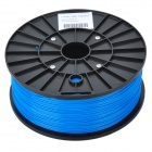 ABS-Glow-BU-1.75-1.0 Glow in the Dark Seires 3D 1.75mm Filament ABS Print Materials - Blue (400m)