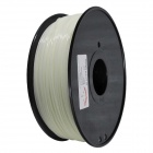 ABS-Glow-GN-1.75-1.0 Glow in the Dark Series 1.75mm ABS Filament 3D Printing Cables - White (400m)