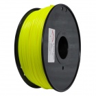 ABS-FLUO-Y-3.0-1.0 Fluorescent Series 3mm ABS Filament 3D Printing Cable - Yellow (150m)
