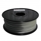 ABS-GR-W-1.75-1.0 Grey to White 1.75mm ABS Filament 3D Printing Cables - Grey + White (400m)