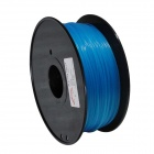 PLA-FLUO-BU-1.75-1.0 Fluorescent Series 1.75mm ABS Filament 3D Printing Cable - Blue (350m)