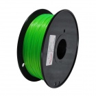 PLA-FLUO-GN-1.75-1.0 Fluorescent Series 1.75mm ABS Filament 3D Printing Cable - Green (350m)