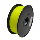 PLA-FLUO-Y-1.75-1.0 Fluorescent Series 1.75mm ABS Filament 3D Printing Cable - Yellow (350m)