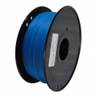 PLA-Glow-BU-1.75-1.0 Glow in the Dark Series 1.75mm ABS Filament 3D Printing Cables - Blue (350m)