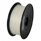 PLA-Glow-GN-1.75-1.0 Glow in the Dark Series 1.75mm ABS Filament 3D Printing Cables - White (350m)