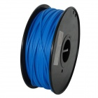 PLA-Glow-BU-3.0-1.0 Glow in the Dark Series 3mm ABS Filament 3D Printing Cables - Blue (139m)