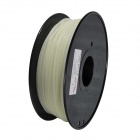 PLA-Glow-GN-3.0-1.0 Glow in the Dark Series 3mm ABS Filament 3D Printing Cables - White (139m)