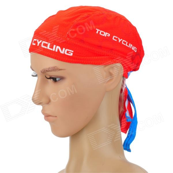 TOPCYCLING Cycling UV Protection Sweat-absorbent Hat - Red