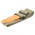 DEDO MA-54 Accessory Senior Nylon Guitar Strap - Brown