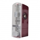 DEDO PA-67 Mini Stainless Steel Mechanical Metronome for Piano - Red