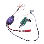 Mini 5.8G 200MW Video Transmitter w /Clover Antenna for DJI Phantom F450 F550 FPV - Green + Purple