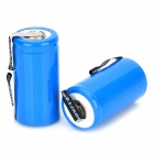 MT-007 Rechargeable 1.2V 1800mAh NiCd Battery - Blue (2 PCS)