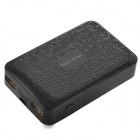Happy Ocean H788 Portable 7800mAh Power Bank - Black (Cable-20cm)