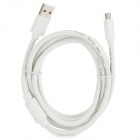 Magnet Ring Micro USB Male to USB 2.0 Male Data Sync / Charging Cable for Samsung + More (150cm)