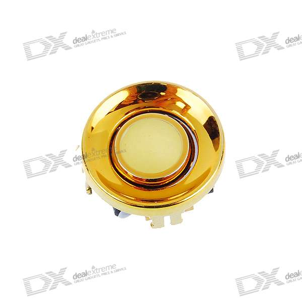 Repair Parts Replacement Trackball with Chrome Ring for BlackBerry (Golden)