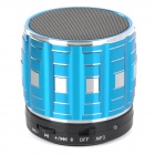 S32 Portable 3W Bluetooth V2.0 Speaker w/ Mic / Mini USB / TF - Blue + Black