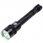 NEW-MX90 Cree XM-L U2 800lm 5-Mode White Tactical Flashlight - Black (2 x 18650)