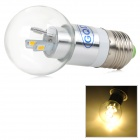 GQD GD-SMD-0B3 E27 3W 270lm 3200K 6-SMD 5730 LED Warm White Light Bulb - Silver (AC 100~260V)