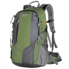 Creeper YD-187 Outdoor Sports Oxford Backpack w/ Rainproof cover - Army Green (40L)