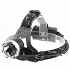 Holyfire Cree XM-L T6 900lm 3-Mode Cool White Headlamp - Black + Gray (2 x 18650)