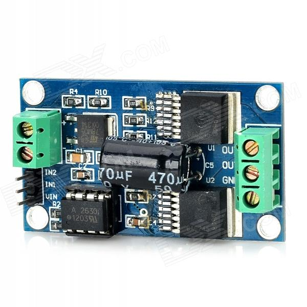 7960B BTN7960B High Power Motor Driver Module w/ High Speed Optocoupler Isolation - Deep Blue