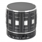 S32 Portable 3W Bluetooth V2.0 Speaker w/ Mic / Mini USB / TF - Silver + Black