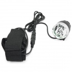 Marsing B25 2-LED 1200lm 4-Mode White Mountain Bike Light / Headlamp (4 x 18650)