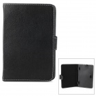 "Universal Protective PU Leather Case Cover Stand for 7"" Tablet PC - Black"
