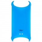 BTA Stylish PC Back Case w/ Strap Hole for IPHONE 5 / 5S - Blue