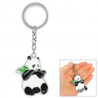 XIO-001 Panda Style Keychain - White + Black + Multi-Colored