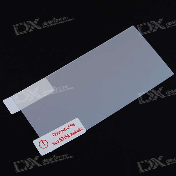 Glossy Mirror Screen Protector with Cleaning Cloth for Nokia 5530
