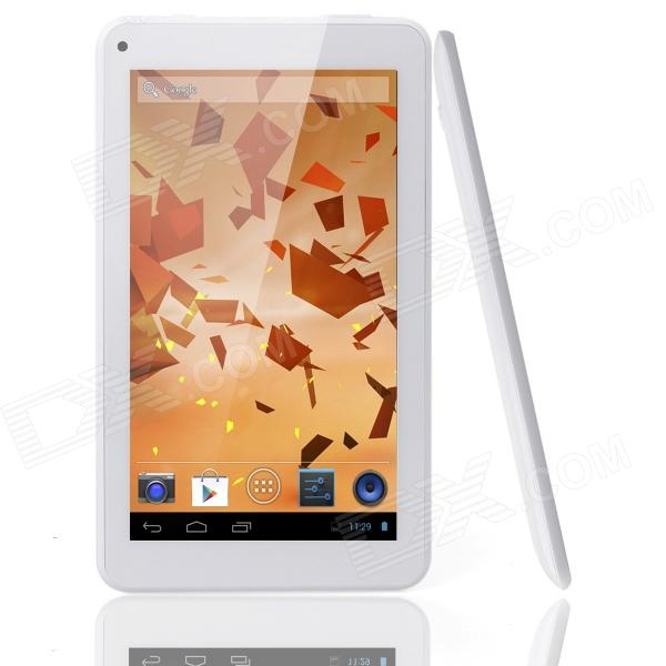 THTF E530 7 Screen Dual-core Android 4.2.2 Tablet PC w/ Wi-Fi - White картридер deppa otg connection kit для asus tablet pc черный 11403