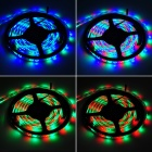 Waterproof 24W 1800lm 600 x SMD 3528 LED RGB Flexible Light Strip w/ 24-Key Controller (DC 12~24V)