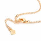 SHIYING a01456 Water Drop Style Collier - or + Transparent