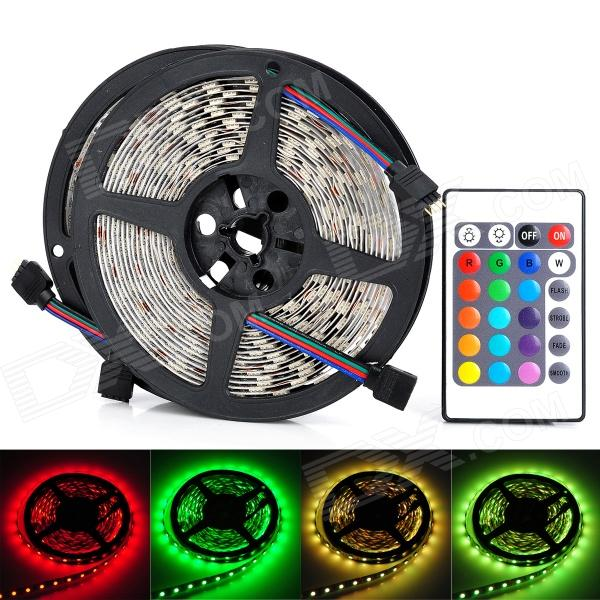 UltraFire RGB SMD 5050 LED Light Strip w/ 24-Key Remote Controller (5M / 2 PCS) nec p401w