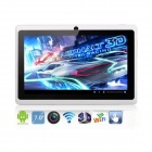"Artchros ACT-721 7.0"" Dual Core Android 4.2 Tablet PC w/ 512MB RAM, 4GB ROM, Music Box - White"