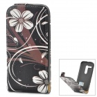 PUDINI WB-MOTOH Protective PU Leather Flip-open Case for MOTO G