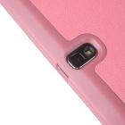 ENKAY Multi-folding Protective PU Leather Case for Samsung Galaxy Note 10.1 2014 Edition - Pink