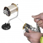 Stainless Steel PC Fishing Winder - Black + Silver + Multi-colored