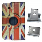 UK National Flag Style 360 Rotation PU Leather Case for Samsung Galaxy Tab 3 Lite T110 / T111 8.0