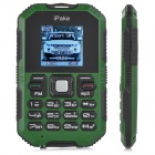 "IPake Q8 Mini Ultrathin Rugged GSM Card Phone w/ 1.5"" Screen, Quad-band and Bluetooth V2.0"