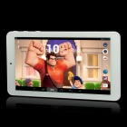 "7.0"" Capacitive Touch Screen Quad Core Android 4.2.2 Tablet PC w/ 8GB + Bluetooth - White + Blue"