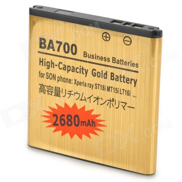 ba700 Li-ion 1200mAh Replace Battery for Sony Ericsson BA700 - Golden