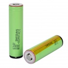 SAMSUNG 3000mAh Rechargeable Li-ion 18650 Battery w/ Protective IC - Green (2 PCS)