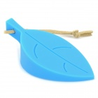 Leaf Style Silicone Door Stopper - Blue