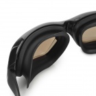 OPOLLY Water Sports PC Lens Swimming Goggles - Black