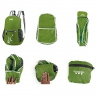 Creeper YD-213 Outdoor Sports Waterproof Lightweight Folding Polyester Backpack - Green (16L)