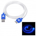 Flashing USB 2.0 Male to Micro 9-Pin USB Male Data Sync / Charging Cable for Samsung Galaxy Note 3