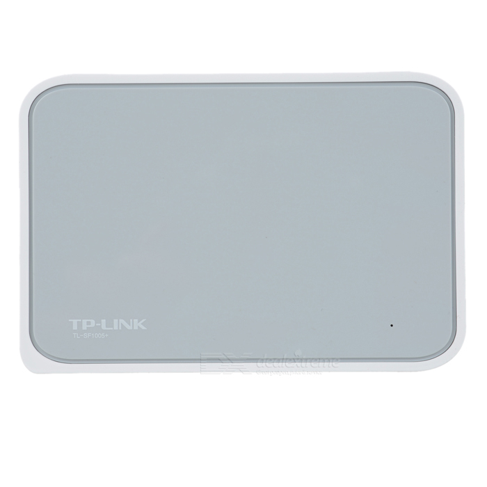 TP-Link TL-SF1005+ RJ45 5-Port Ethernet Ethernet Desktop Switch HUB - White